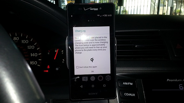Anybody have the Air Dock? A wireless charging car mount.-20150430_180338.jpg