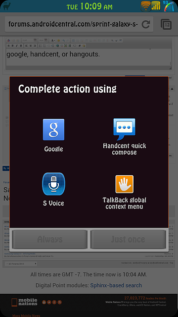 Samsung Galaxy S3 (Sprint) Home Button -> Google Now (while PIN Locked)-screenshot_2013-12-03-10-09-51.png