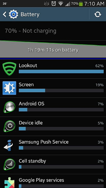 Lookout Security killing my battery after update?-1384518156267.jpg