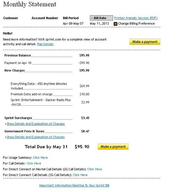 Is sprint REALLY cheaper than Verizon? - Android Forums at