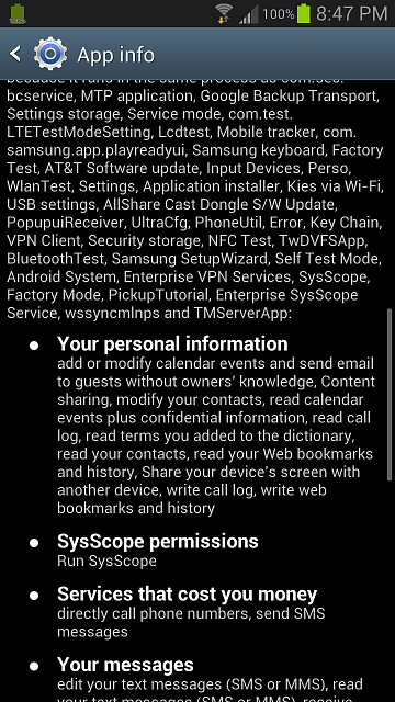 SysScope what are you? - Android Forums at AndroidCentral com