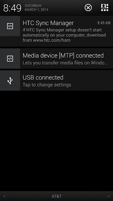 htc m7 sync manager download