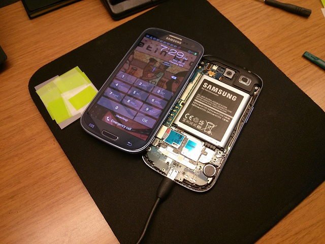 Screen Cracked, need to retrieve data  - Android Forums at