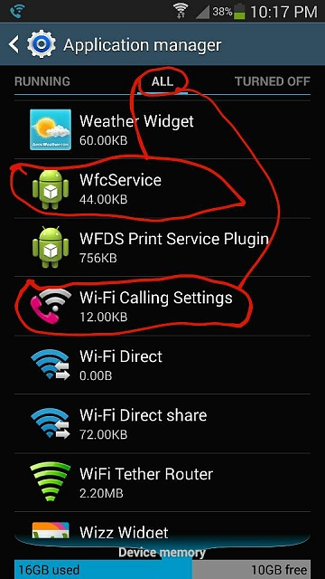 T-Mobile Note 3: DISABLE Wifi Calling permanently - Android