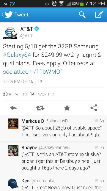 AT&T first to offer 32GB Galaxy S4!-uploadfromtaptalk1367886490351.jpg