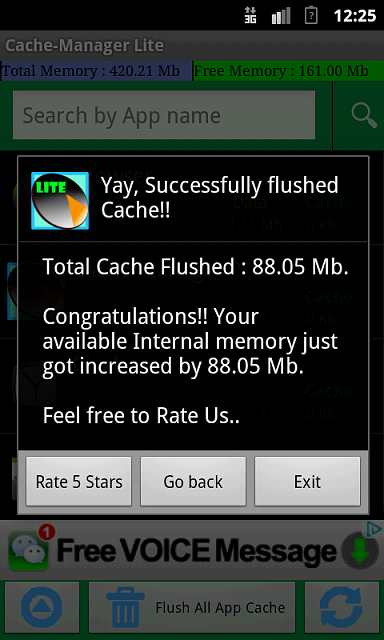 Cache-Manager : Ultimate domination of your device Cache, Boost your device speed.-device-2012-11-23-002615.png
