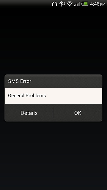Com android mms error