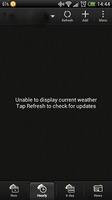 Weather-app won t update tile - Microsoft Community
