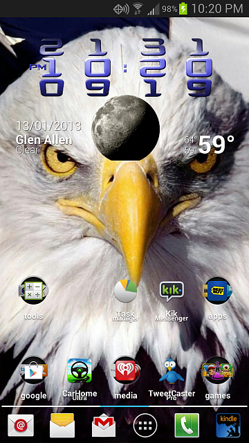 What is the best launcher? Please share a screenshot of your homescreen.-2013-01-13-22.20.58.png