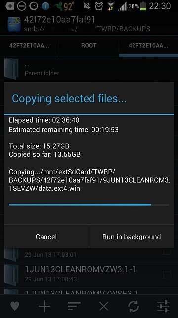 How long  should it take to copy a 1GB video from PC to Sandisk 64GB MicroSDXC card inside Note 2?-screenshot_2013-07-09-22-30-11.jpg