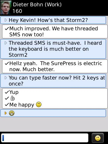 I hate bubbles in SMS - are there any SMS apps that AREN'T for teen girls?-blackberrystorm2sms.jpg