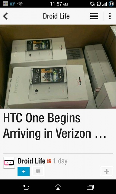 """ONE """"supposedly""""  out in 3 days but not a soul at VZW knows anything about it?? EDIT: THEY DO KNOW!-uploadfromtaptalk1377116767735.jpg"""