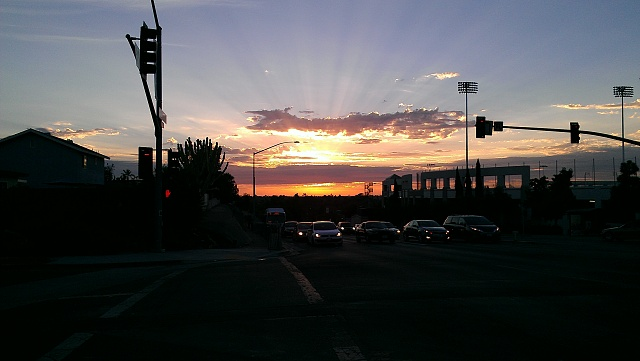 Photos Taken With Your Rezound Camera!-sdsu-sunset.jpg