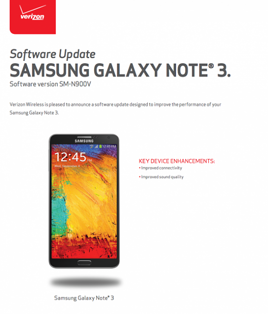 Galaxy Note 3 software update    - Android Forums at AndroidCentral com