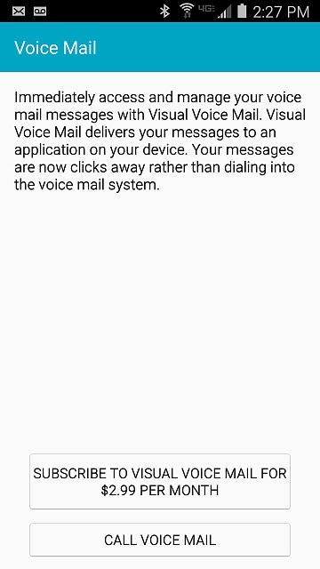how to change voicemail on samsung s4
