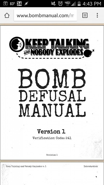 New game: keep taking and nobody explodes-1437080172405.jpg