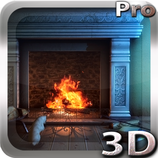 Fireplace 3D Pro Live Wallpaper