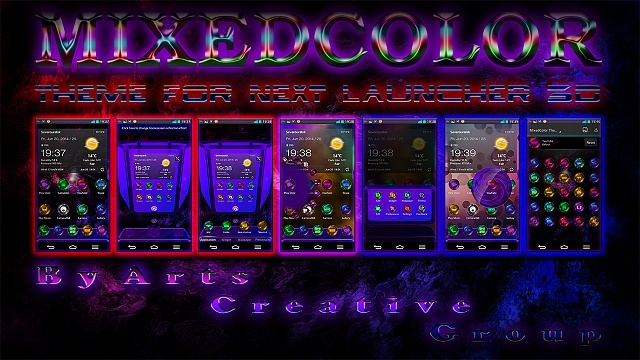 Next Launcher 3D Theme MixedColor-artmc.jpg