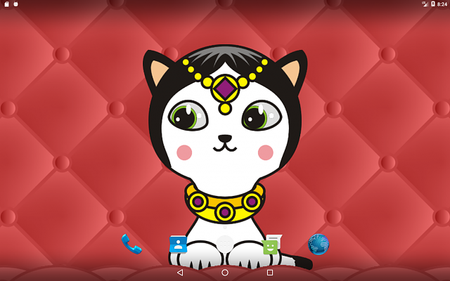 Nyasha Fashion Cat Live Wallpaper-nyasha-fashion-cat-live-wallpaper-android-screenshot-3_orig.png
