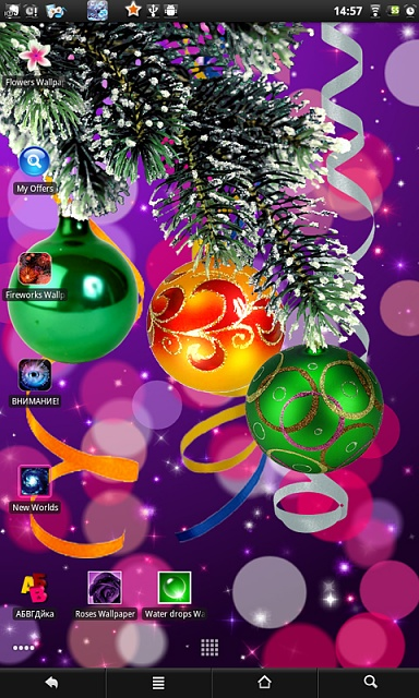 Christmas live wallpaper-screen01.jpg