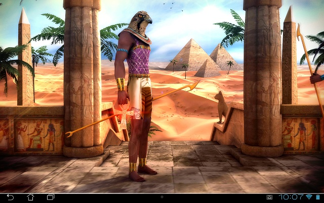 Egypt 3d pro live wallpaper android forums at for 3d wallpaper for home egypt